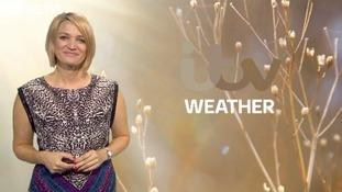 Weekend weather update with Kerrie