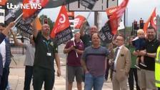 WATCH: Paramedics strike over job-evaluation