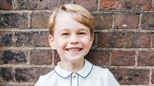 Official portrait released to mark Prince George's fifth birthday