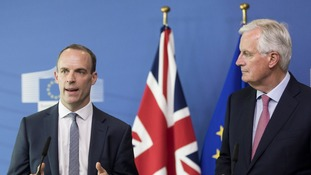 Raab signals Britain will not pay Brexit settlement without a trade deal