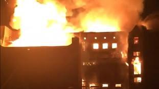 Mackintosh Building fire