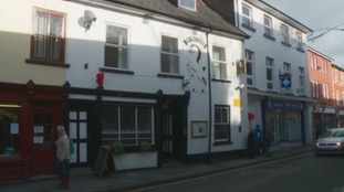 White Horse pub, Builth Wells