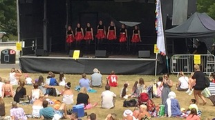 Hundreds enjoy food music and dance at the Maidstone Mela