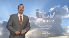 Wales weather: mostly dry in the east, a few showers in the west