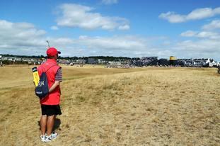 The Open Championship fairways at Carnoustie