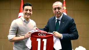 Mesut Ozil insists picture with Turkish President Erdogan not a political statement
