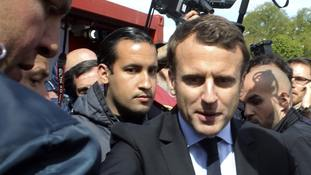 President Macron's bodyguard faces charges over beating allegations