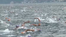 The swim race between continents that's not too epic