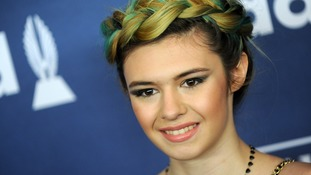 Nicole Maines said it 'seems fitting to have a trans superhero'.