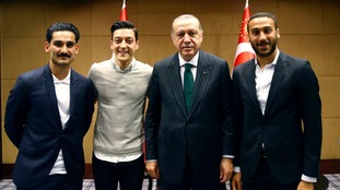 Mesut Ozil insisted there were no political undertones behind the photograph with the Turkish leader, along with Germany team-mate Ilkay Gundogan.
