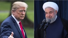 'Never ever threaten US again' - Trump's fiery warning to Iran