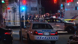 Toronto gunman killed by police after shooting dead two and injuring 14 others