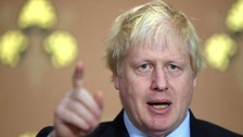 London knife crime 'a scandal', says former mayor Boris Johnson