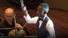 Meet Britain's youngest conductor