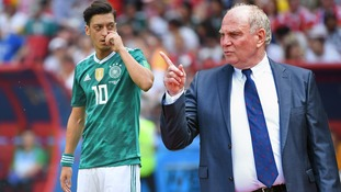 Bayern Munich president Uli Hoeness accuses Ozil of producing bad performances for Germany for years