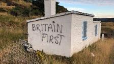 Far right graffiti