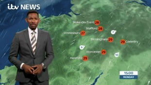 West Midlands Weather and Pollen: Hot, dry and sunny