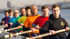 The London Otters rowing club heads to the Gay Games
