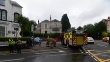 Trapped residents saved from early morning house fire in Swansea