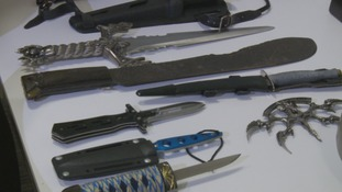 Calls for tougher sentences on those who carry knives