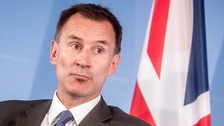 Hunt tells EU 'accident' no deal would only benefit Putin