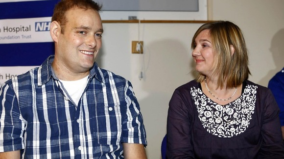 Matthew Green was the first person in the UK to receive a Total Artificial Heart at Papworth Hospital in 2011