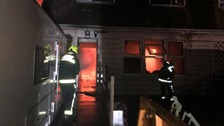 Fire at Chilthorne Domer