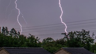 Weather warning for thunderstorms in some parts of the Anglia region on Friday