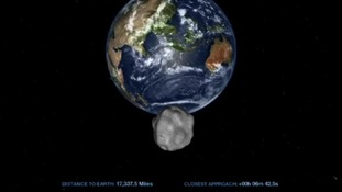 Asteroid to pass closer to Earth than ever before