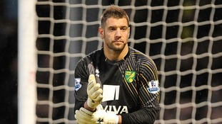 Norwich City goalkeeper Mark Bunn
