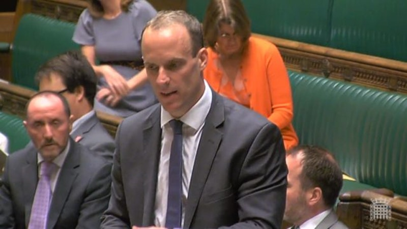 Claims that Dominic Raab has been sidelined as PM takes control of negotiations - ITV News