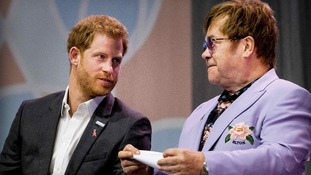Prince Harry will be joined by Sir Elton John