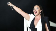 Pop star Demi Lovato has been hospitalised.
