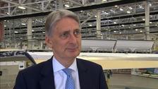 Chancellor Philip Hammond in Belfast