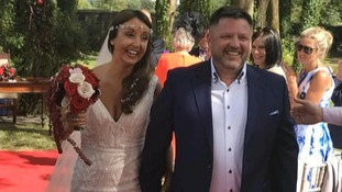 Zoe Holohan and Brian O'Callaghan-Westropp flew to Greece for their honeymoon
