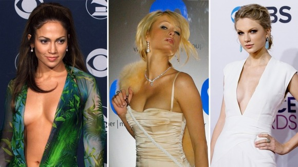 J-Lo, Paris Hilton and Taylor Swift