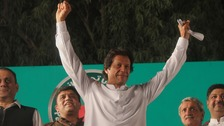 If he wins, Imran Khan will face leading a dwindling economy and militancy.