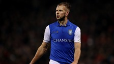 Jordan Rhodes is on loan from Sheffield Wednesday.