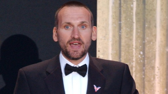 "Christopher Eccleston has received a public apology, ""substantial"" damages and his legal costs"