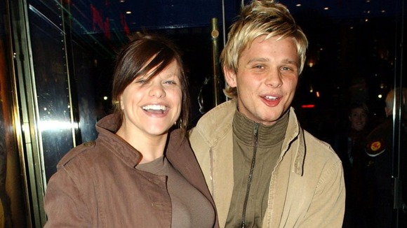 Jade Goody and Jeff Brazier in 2003
