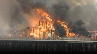 Weston-super-Mare pier fire: ten years on
