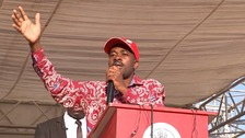 Nelson Chamisa is taking on a difficult task.