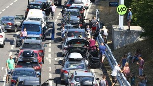 Five hour delay for Eurotunnel passengers due to 'extreme' temperatures