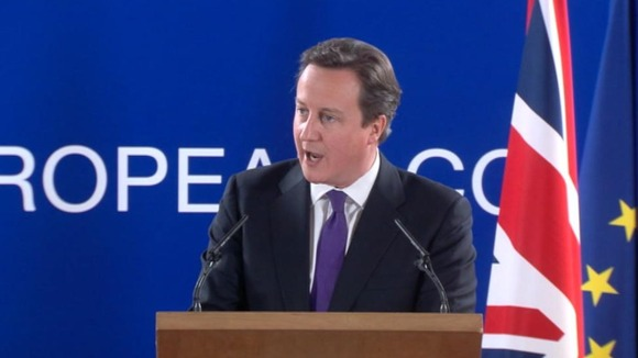 David Cameron had been pushing for a reduction in the EU budget