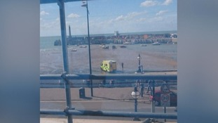 Six year old girl dies after getting into difficulty in the sea in Margate