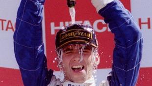 Former F1 world champion Damon Hill.