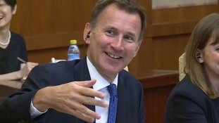 'My wife is Japanese...my wife is Chinese, sorry' - Jeremy Hunt makes embarrassing gaffe in China