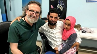 Dr Mehmet Culcu met Maya and her father at his Istanbul surgery.