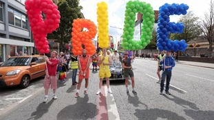 It comes ahead of the Pride festival this weekend.