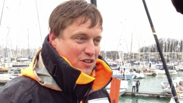 Yachtsman Alex Thomson